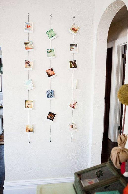 19 ideas geniales de Pinterest para decorar con fotos | Pinterest ...