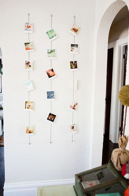 19 ideas geniales de Pinterest para decorar con fotos — cribeo