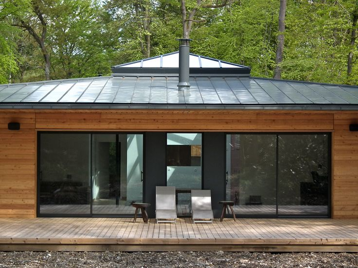 352 best maison images on Pinterest Home ideas, Arquitetura and - maison charpente metallique prix