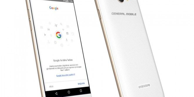 General Mobile GM 6 Android One Smartphone Announced at MWC 2017