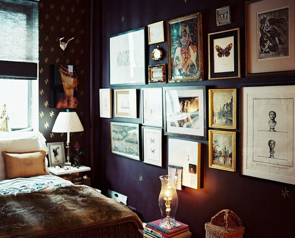 25+ Best Ideas About Dark Purple Walls On Pinterest