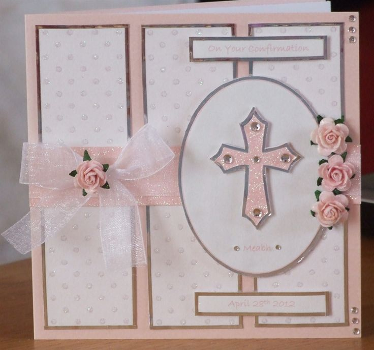 Confirmation Card & Candle by: ronni