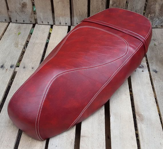 Cheeky Seats Vespa GT 125 200 Distressed Oxblood by CheekySeats