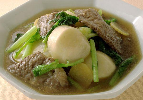 「牛カルビとかぶの煮物」の料理レシピ/完成イメージ