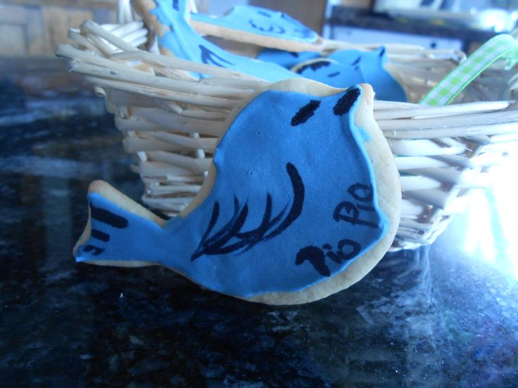 #cookies #galletas #pajarito # twitter #sweetsonita #blue #bird