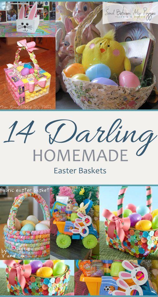 Handmade Easter Baskets Ideas : Homemade easter baskets handmade basket projects