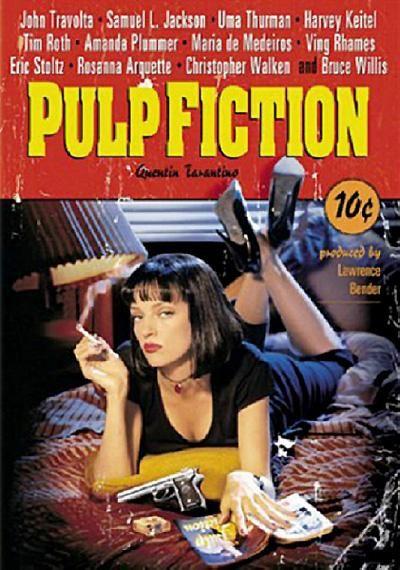 Pulp fiction (1994) EEUU. Dir: Quentin Tarantino. Acción. Thriller. Películas de culto - DVD CINE 599