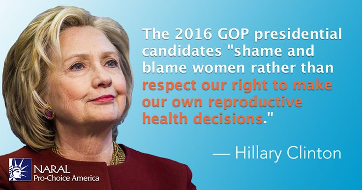 Hillary Clinton has always been a steadfast champion of women's equality and reproductive freedom. And she's already fighting to make sure that the 2016 GOP candidates #OwnIt!