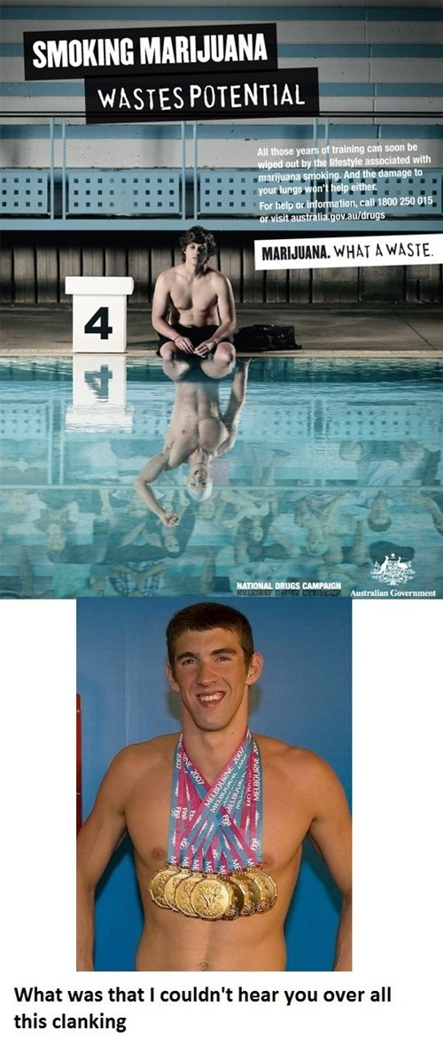 Michael Phelps Would Like To Have a Word With You; this just made my night considering Michael Phelps is the LOVE OF MY LIFE!