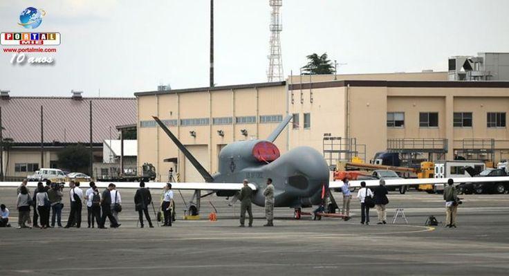 Exército dos EUA exibe seu Drone de Vigilância no Japão