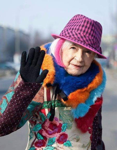 L'actrice polonaise Danuta Szaflarska, âgée de 98 ans