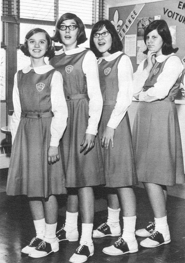 School Uniform Saddle ...