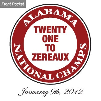ROLL TIDE: Tide Rolls, National Champs, Pockets Tees, 2011 National, Rammer Jammer, Champs Pockets, Rolls Tide, Crimson Tide, Alabama 2011