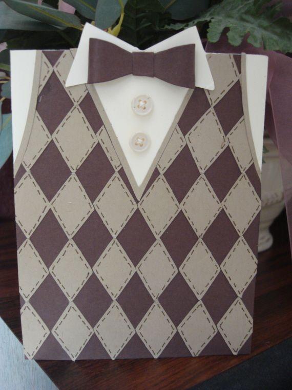 Sweater Vest Card