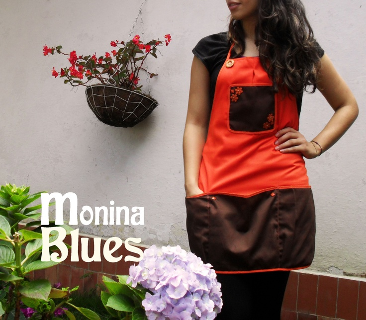 Great apron made by hand!  www.moninablues.com