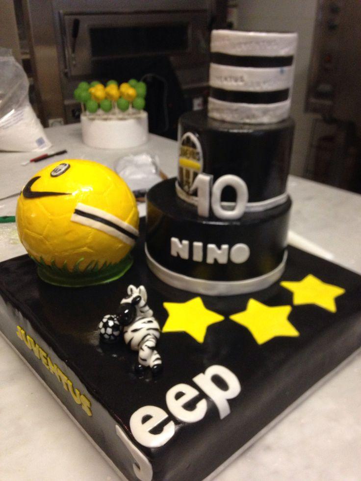 Cartoon Cake Football Decorating