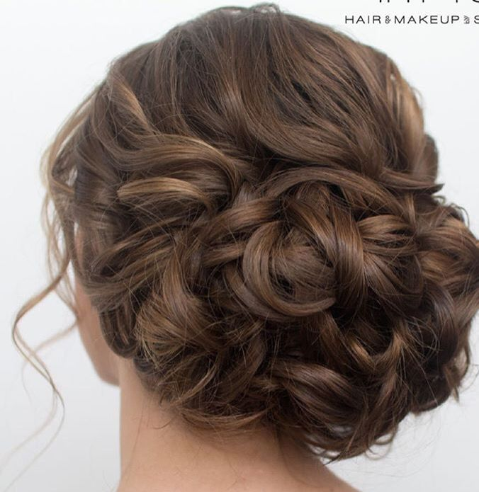 This Beautiful Romantic Low Bun