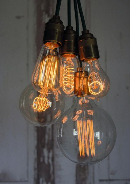 How cool are these? Cassiopeia combines a unique array of specially designed filament lamps and industrial inspired fittings to create a truly atmospheric lighting product. 40w E27 220v - 240v lamps with decorative light Flex.