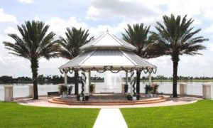 Tradition Town Hall Pt St Lucia waterfront gazebo