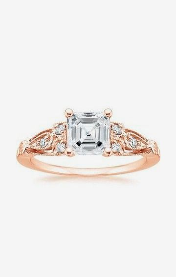 Rosabel Diamond Ring Rose Gold. (Rather have white gold!but beautiful ring!)