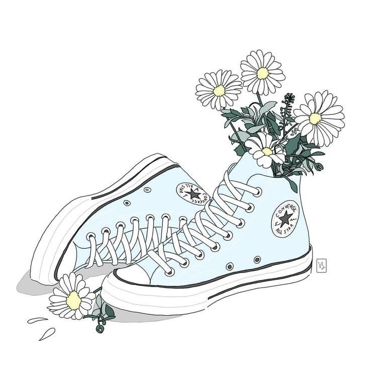 #converse #drawing #sketch #dessin #illustration #art