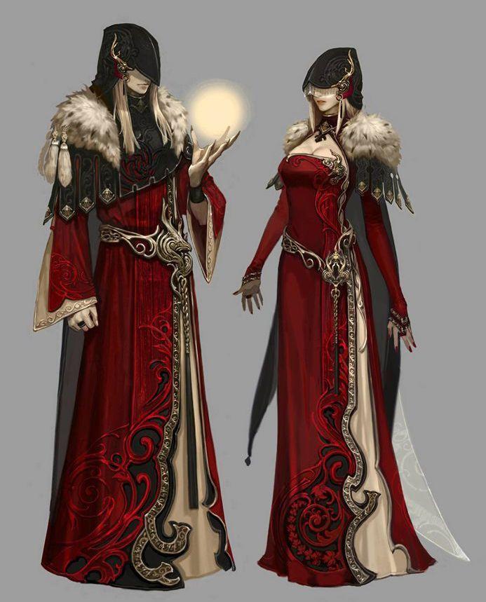 Gnomon Character Concept Design : Arte y conceptos fantasía rpg parte 캐릭터 컨셉 및 아트