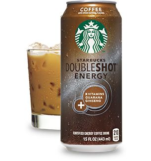 Got time for midday nap? No? Then grab a can of Starbucks Doubleshot® Energy Coffee and stay alert. Not just coffee and not just energy, this smooth, great-tasting powerful blend is jolted by B vitamins, guarana and ginseng. It's all zap, no nap.