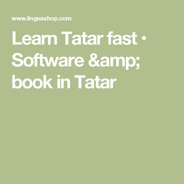 Learn Tatar fast • Software & book in Tatar