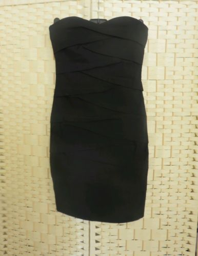 Black bodycon ASOS size uk 6 short party dress bnwot in Clothes, Shoes & Accessories | eBay