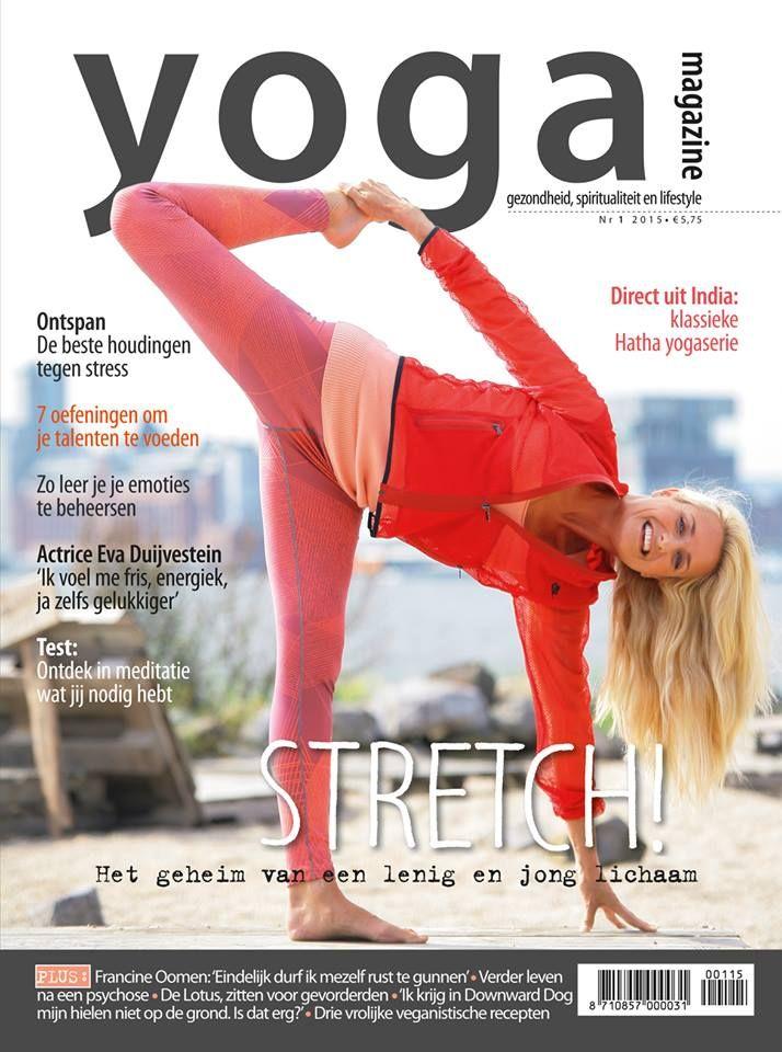 Yoga Magazine 2015 - 1 Stretch: het geheim van een lenig en jong  lichaam.