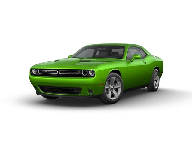 2017 Dodge Challenger Coupe Green Go Clearcoat