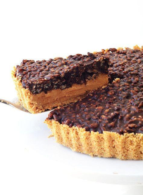 Peanut Butter Chocolate Crunch Pie Recipe Chocolate