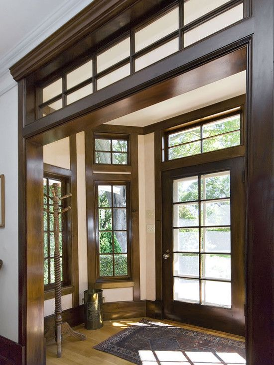 Foyer Trim Design : Spaces two story foyer design pictures remodel decor