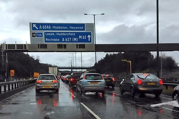 Overnight closures on the M60 and M62 - how six nights of work will affect you - Manchester Evening News