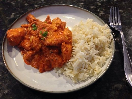 A recipe for the Indian dish chicken tikka masala from Indian-American chef Preeti Mistry