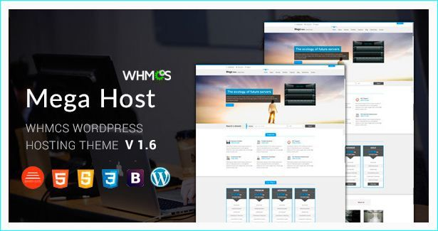 21 Premium Web Hosting WordPress Themes