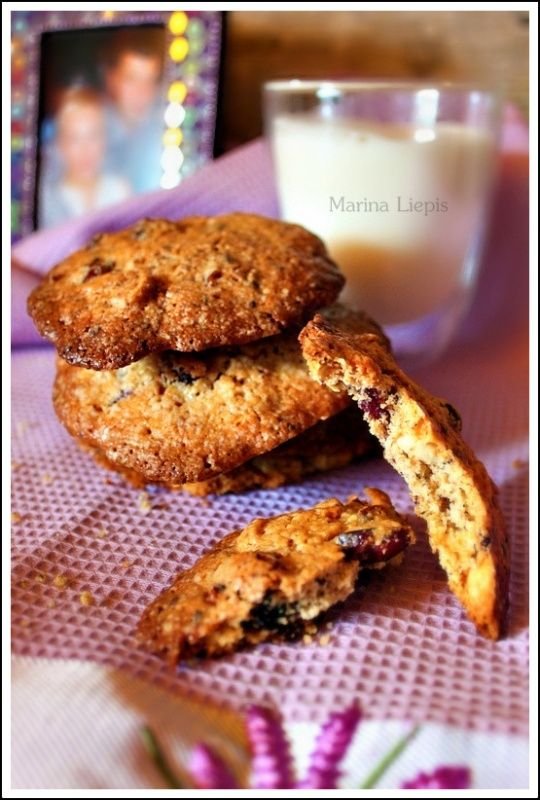 простой рецепт печенья с шоколадом обед из ничего