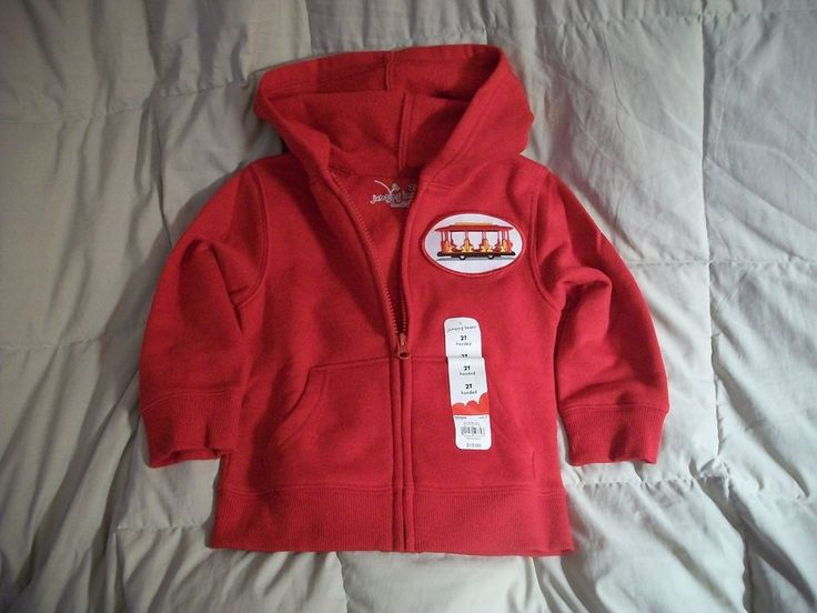 Daniel Tiger Trolley Zip Up Hoodie New 2T or 4T #JumpingBeans