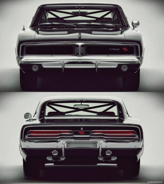 69 Dodge Charger RT #muscle #car