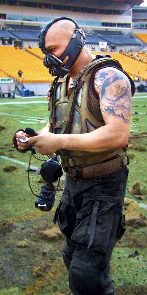 Tom Hardy as Bane