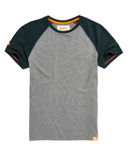Superdry Orange Label Baseball Grit T-shirt