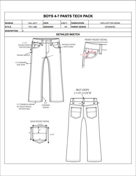 32 best Fashion Apparel Tech Pack Templates images on Pinterest - sample specification sheet template example
