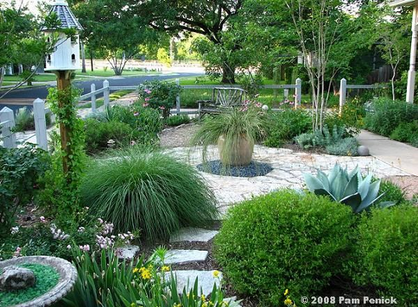 17 best images about california landscape dream on for Front yard courtyard design