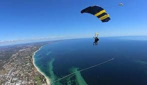 Tandem Skydive from 10,000, 14,000 or even 15,000 feet over the stunning Margaret River Region. The adrenaline starts pumping as you leave the aircraft and free-fall at 124-mph (200km/h) for up to 66 seconds! Then relax and enjoy the breath-taking view as your instructor flies you back to earth, where you will land on the sand of the famous Busselton foreshore.