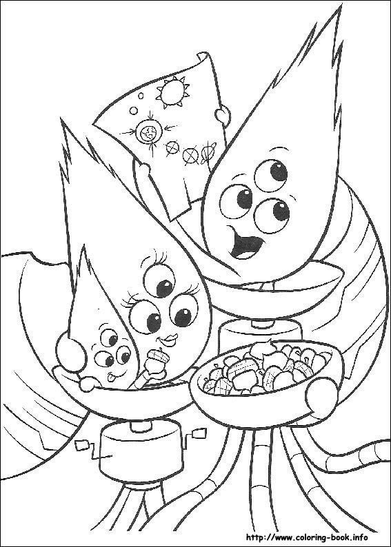 De 102 bsta Disney Chicken Little Coloring Pages Disney bilderna