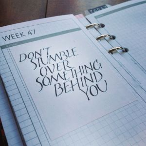 Week 47 - Quote For My Week - DIYfish Life Mapping Inserts v02 #filofax #daytimer #franklincovey #diyfish #lifemapping #planner #organization