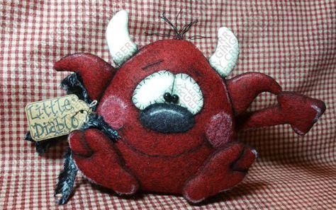 Pequeño Diablo Diablo patrón 188 patrón de por GingerberryCreek