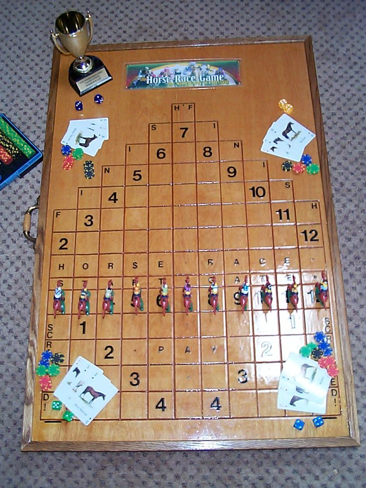 Anyone know the Wood Horse Racing Game? - Woodworking Forum - GardenWeb | Craft Ideas ...