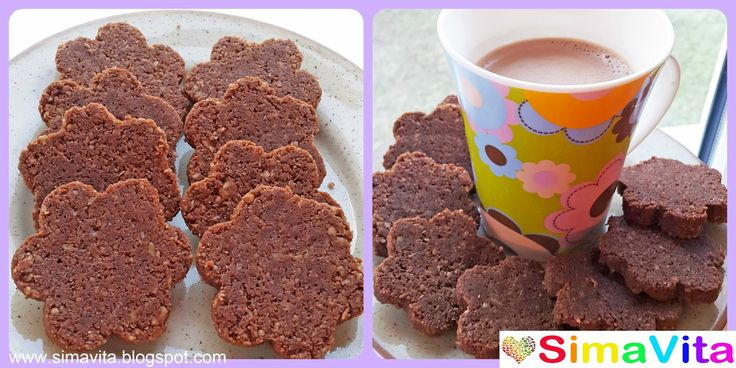 Kakaové sušenky RAW