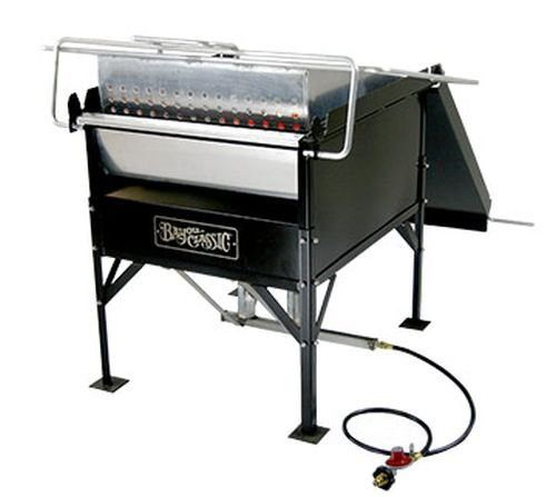 Bayou Classic Crawfish Cooker with 100 Qt Basket Capacity
